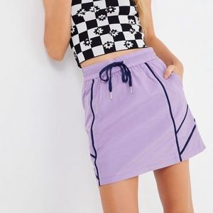 Brand New - UO Alyx Nylon Drawstring Mini Skirt